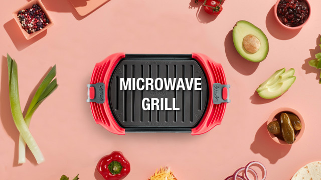 Vídeo Microwave Grill XL